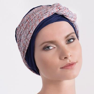 Turban chimio femme Bandeau Mississippi Aderans France