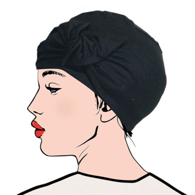 Turban chimio femme Passiflore Aderans France